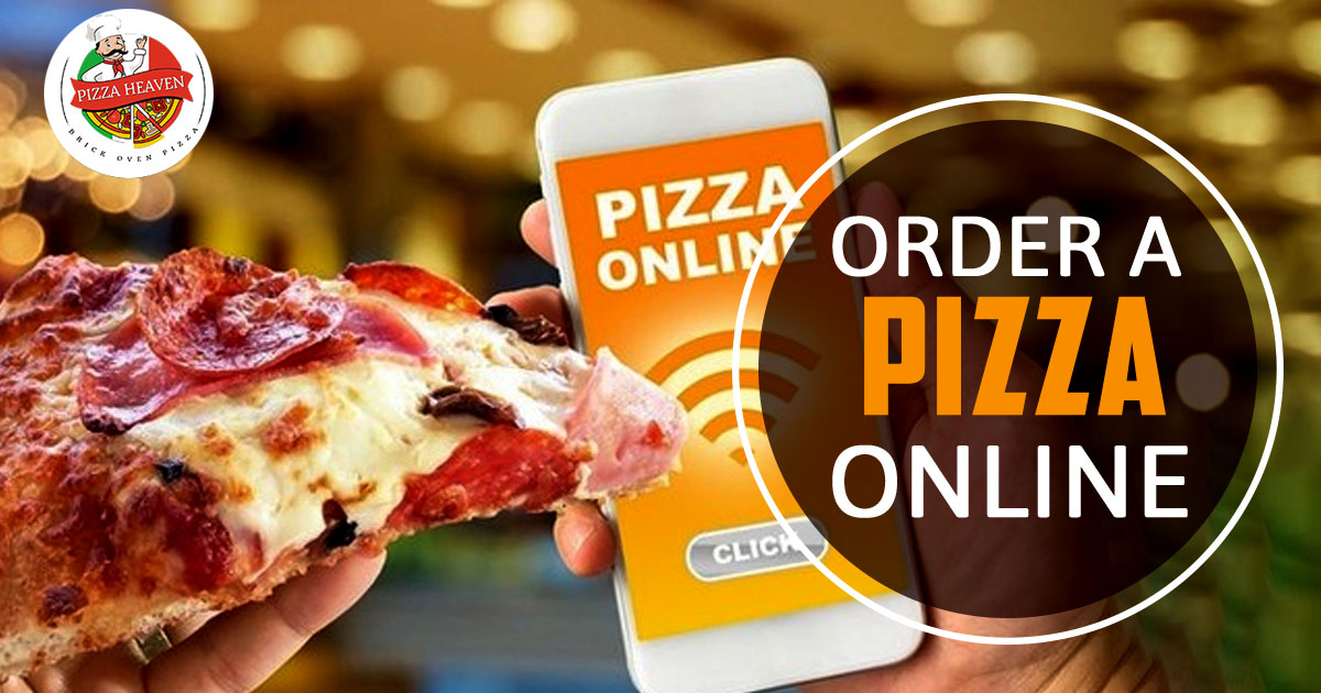 Order a pizza online