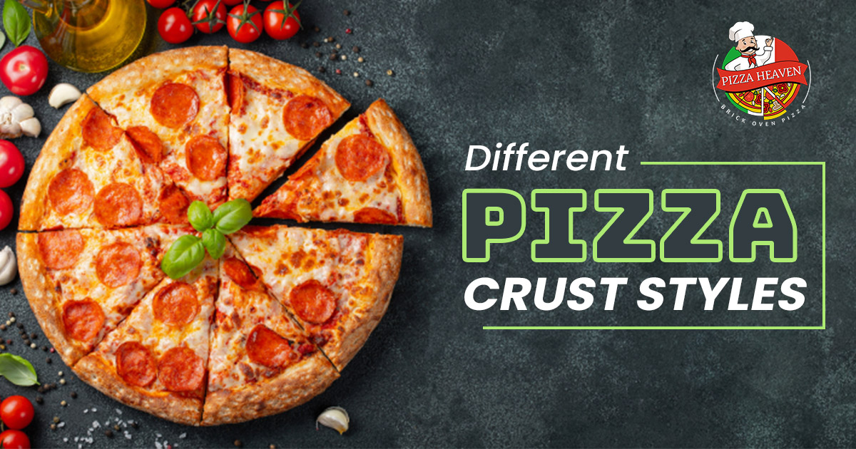 Different pizza crust styles