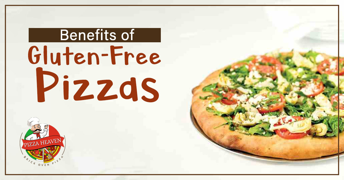 benefits of Gluten-Free Pizzas and topping