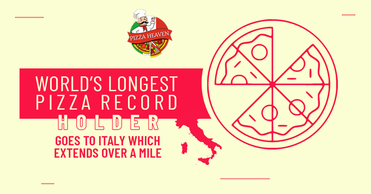 World's longest pizza record holder goes to Italy which extends over a mile