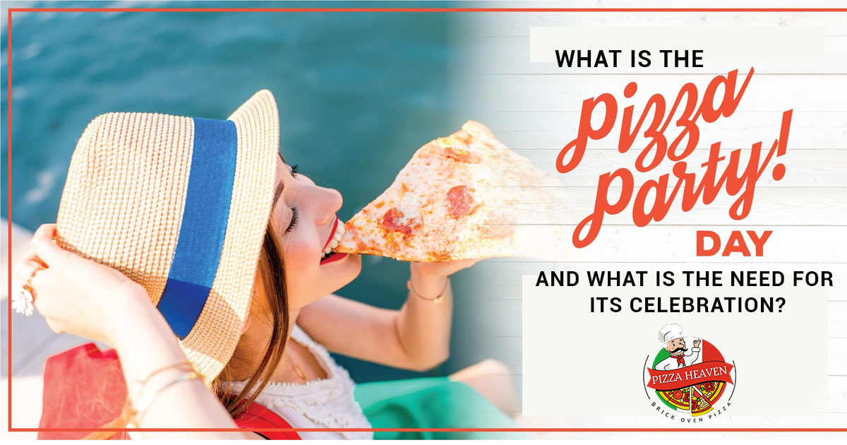 What is the pizza party day and what is the need for its celebration