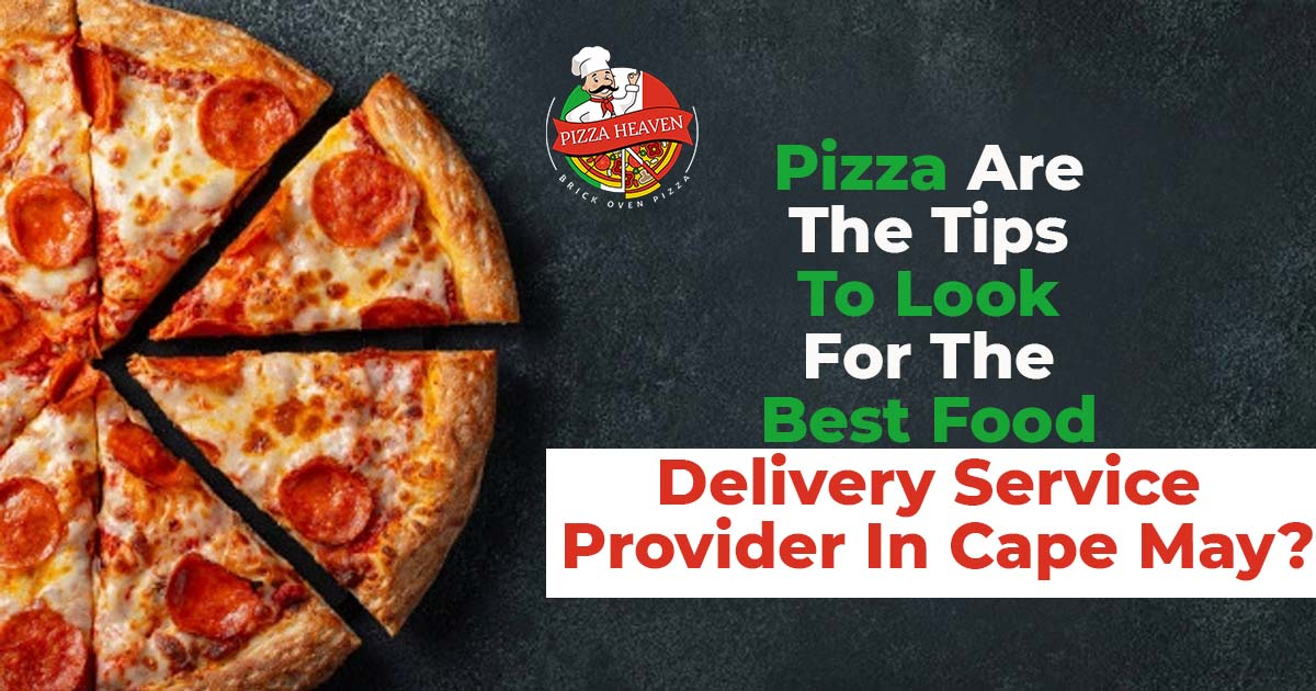 delivery service provider in Cape May