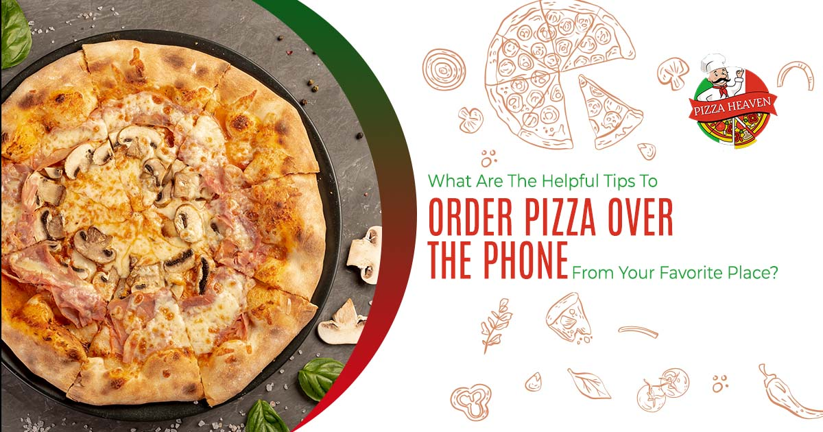 order pizza over the phone